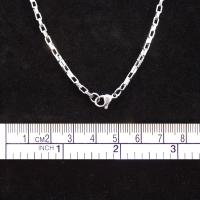 Venezianer-Halskette, Edelstahl, 51cm lang, 2mm stark